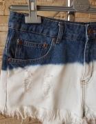 Spodenki jeansowe z dziurami...