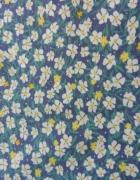 Sukienka na co dzień XS w kwiaty błękitna...