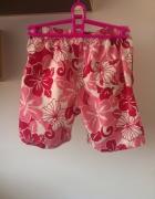 Hawajki kwiaty kwiatki różowe rybaczki XS S...