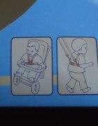 szelki do wózka lub nauki chodzenia...