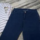 Sportowy komplet na jesień jeansy i koszulka