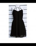 Czarna elegancka sukienka Even&Odd...