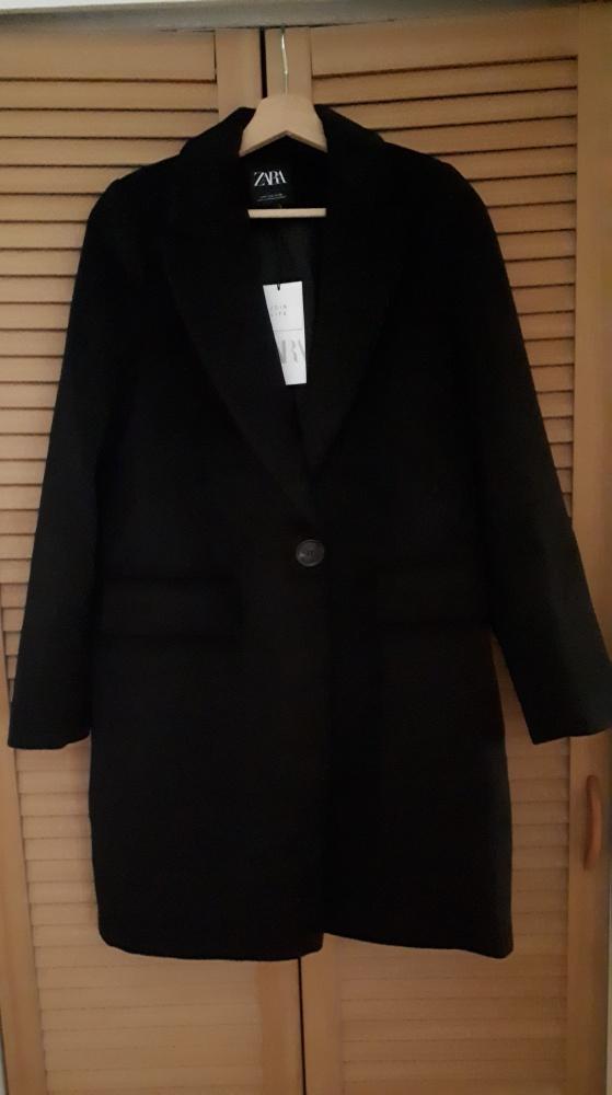 Nowy wełniany płaszcz Zara...