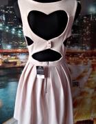 topshop sukienka zip serce na plecach blog 40 L...