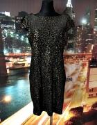 mango sukienka mieniąca się cekiny sylwester jak nowa 40 L...