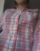 koszula w kratkę S