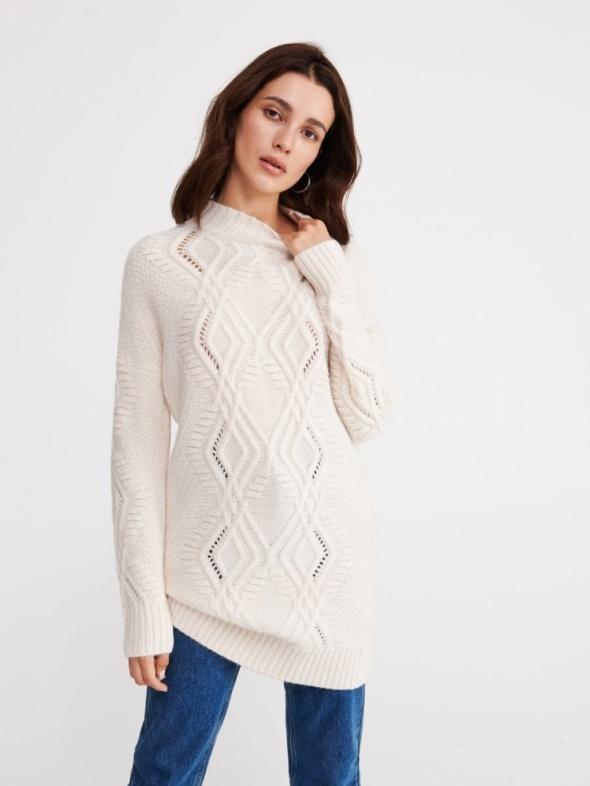 Sweter RESERVED długi