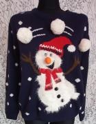 Świąteczny sweter damski Atmosphere M...
