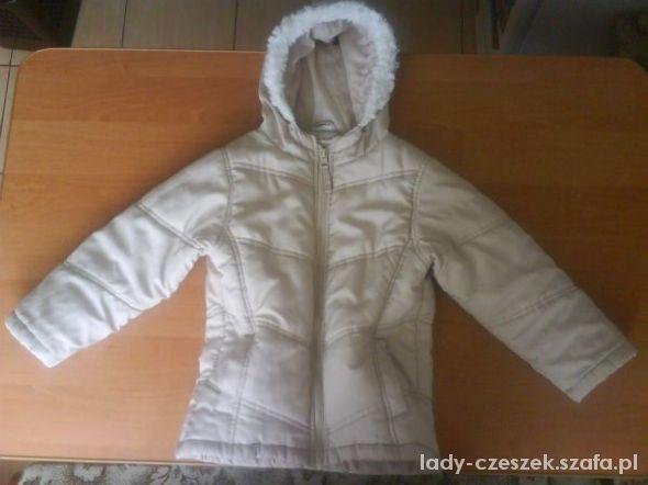 CHEROKEE kremowa kurtka dziewczęca 110