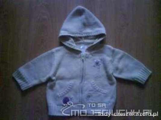 CHEROKEE beżowy sweterek dziecięcy 74...