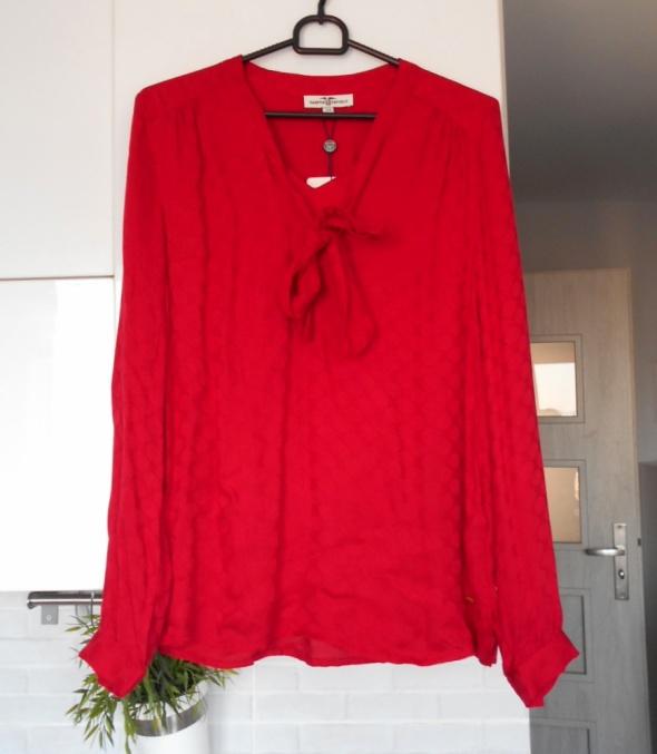 Kappahl nowa bluzka czerwona kokarda
