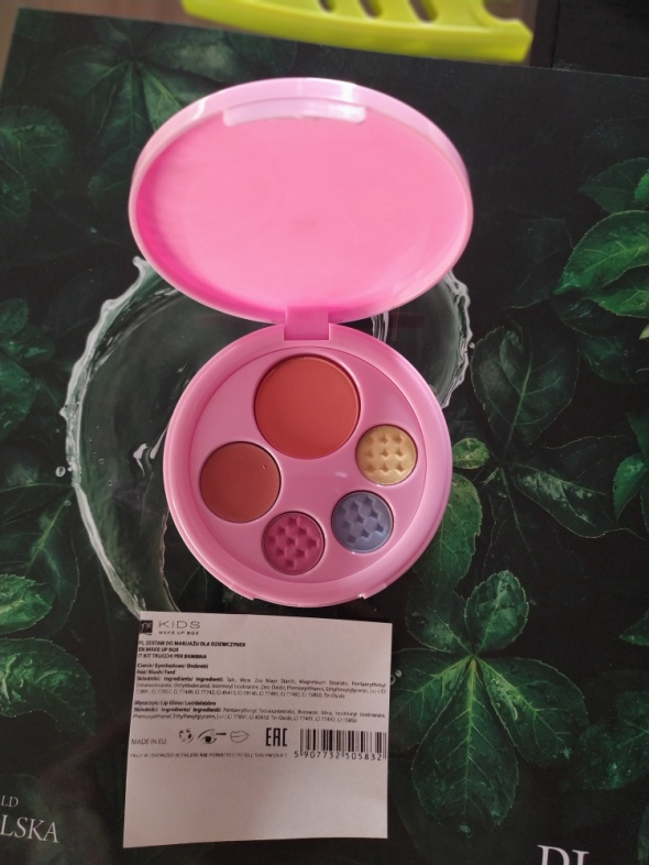 Paletka do makijażu FM kids make up box