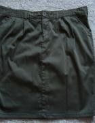 Spódniczka spódnica ołówkowa khaki 42 M...