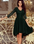 sukienka Nicolle asymetryczna koronka ZIELONA...