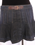 spódnica dżinsowa plisowanka...