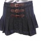 spódnica dżinsowa plisowanka