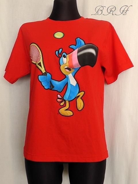 ALSTYLE koszulka z aplikacją papugi