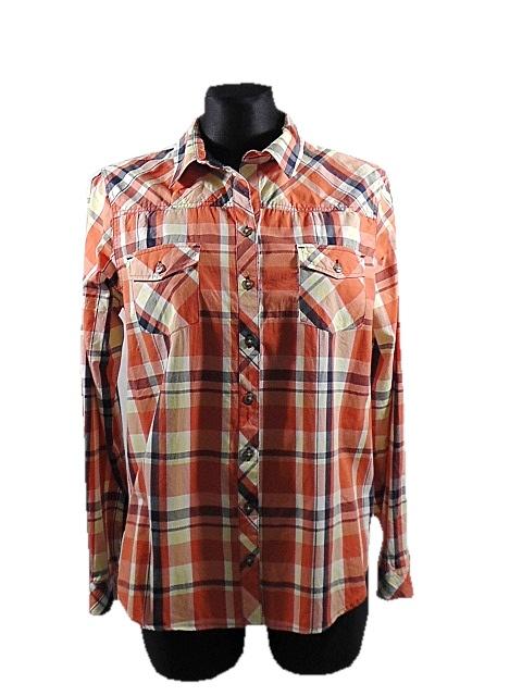 Koszule ZOUL koszula damska w kratę rozm L