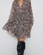 Zara nowa sukienka w kwiatki 40 L...