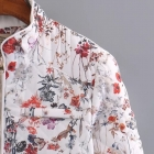 Zara kurtka kwiatki pikowana 38 M
