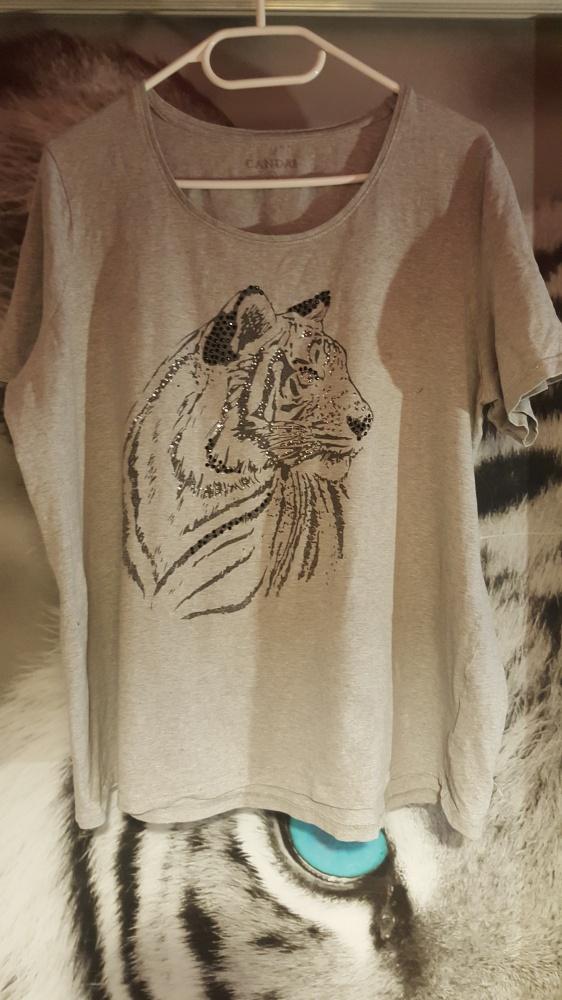 Bluzka z tygrysem...