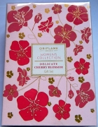 Delikate Cherry Blossom perfum i balsam zestaw Oriflame...