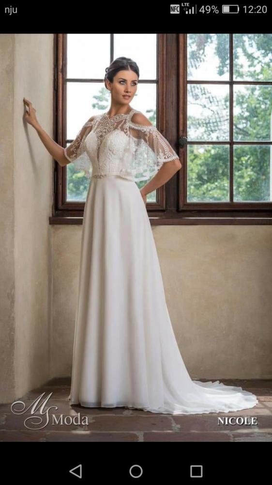 Suknia ślubna Ms moda Nicole niespotykana