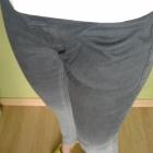 Spodnie jeansowe skiny cieniowane szare Fransa