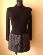 Elegancka czarna sukienka Promod...