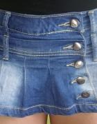 Śliczne spdenki ze spódniczką jeansowe...