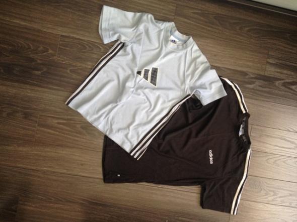Adidas dwie koszulki