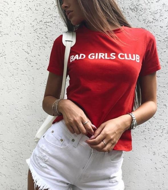 T-shirt BAD GIRLS CLUB Koszulka PREMIUM tshirt modna rozmiary S M L XL XXL