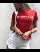 BAD GIRLS CLUB Koszulka PREMIUM tshirt modna rozmiary S M L XL ...