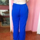 Bollywood spodnie z dżetami XS S 34 36 niebieskie cekiny szafirowe unikatowe belly dance taniec brzucha granatowe dżety ozdoby