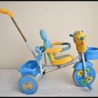 Rowerek trójkołowy dla dzieci z prowadnikiem