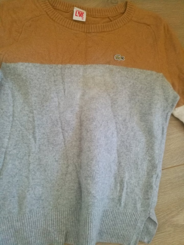 Sweterek Lacoste XS