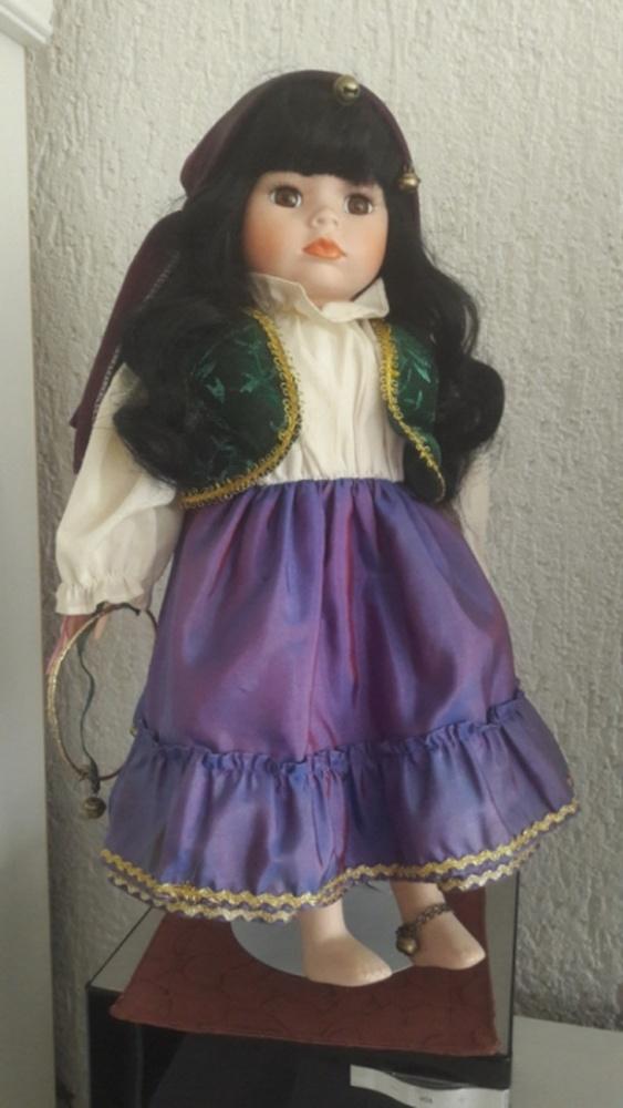 Zabawki Porcelanowa lalka Anglia