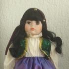 Porcelanowa lalka Anglia