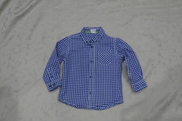 Koszulki, podkoszulki Śliczne koszule dla małego mężczyzny H&M Cool Club 86 92