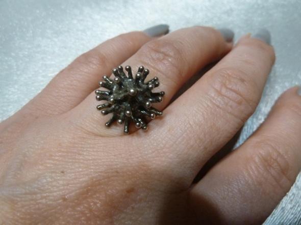 pierścionek jeżyk...