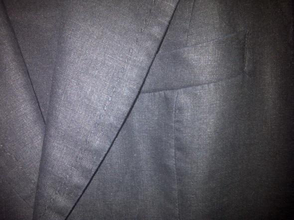 Kostium z lnu