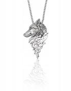 Wiedźmin Wilk Antyczny Viking naszyjnik Biżuteria Serial WITCHE...