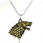 Wiedźmin Wilk Antyczny Viking naszyjnik Biżuteria Serial WITCHER Game of Thron