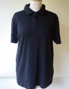 Koszulka Polo Czarna L 40 Calvin Klein Slim Fit Bluzka...