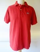 Koszulka Polo Czerwona Lacoste L 40 Męska Men...
