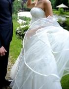 Suknia ślubna rozmiar 38 i GRATISY welon bolerko...