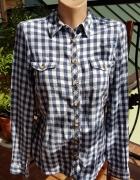 koszula taliowana w krate...