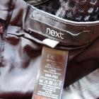 Next czarna spódnica midi 38
