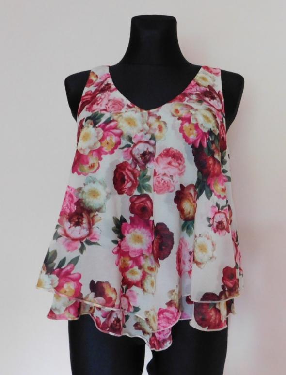 New Look bluzka top kwiaty 38 40...