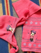 Komplet czapka szalik Myszka Minnie...